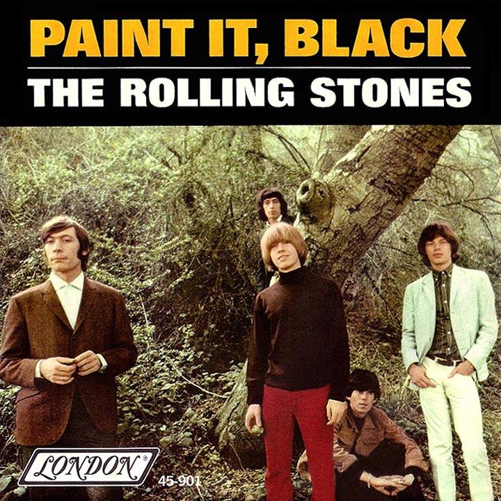 Rolling Stones Song Paint It Black
